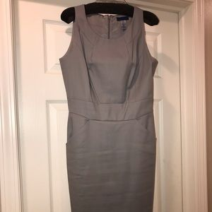 Gray JCrew dress